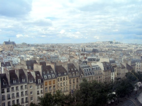 Paris from le Centre Pompidou