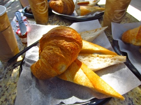 A very French breakfast at Croissant Gourmet
